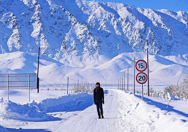 【旅行圖中】 零下30度的可可托海,新疆最美麗動人的冰封小鎮!
