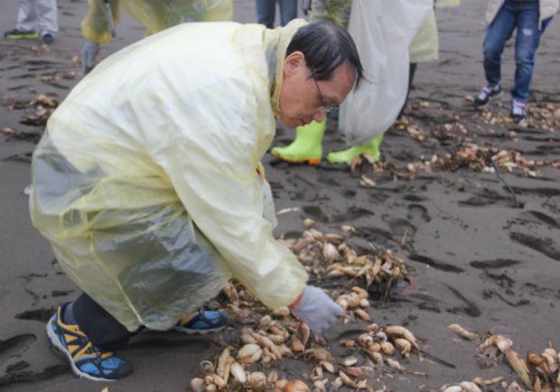 世界地球日淨灘 聯電鼓勵保育團參與綠獎