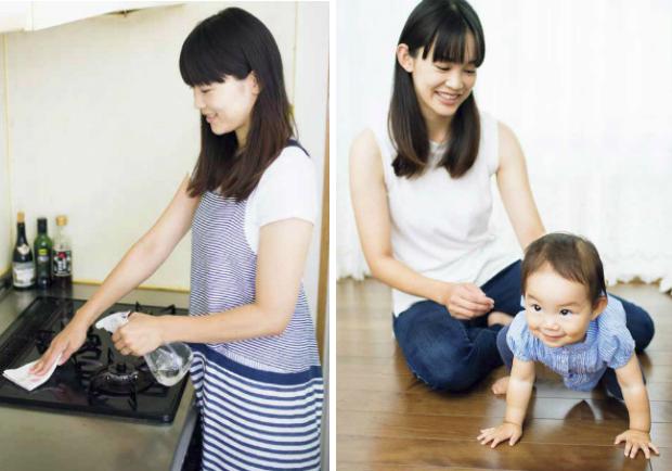 去除髒污與臭味,將米發酵水充分運用在清潔打掃