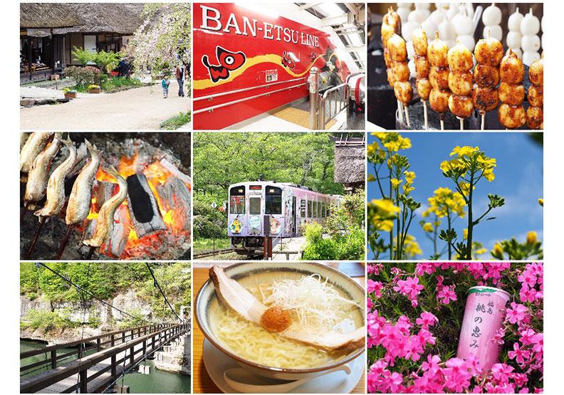 福島的夏日鐵道與租車自駕小旅行