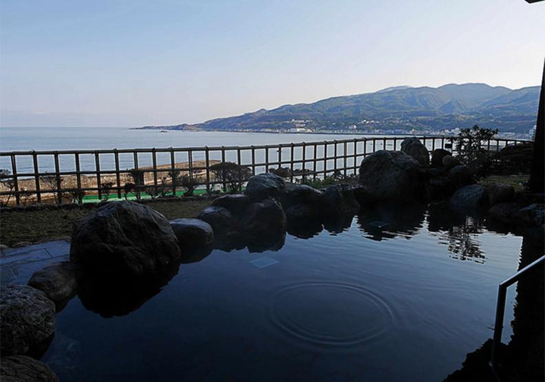 新潟絕美海景夕陽 露天溫泉飯店