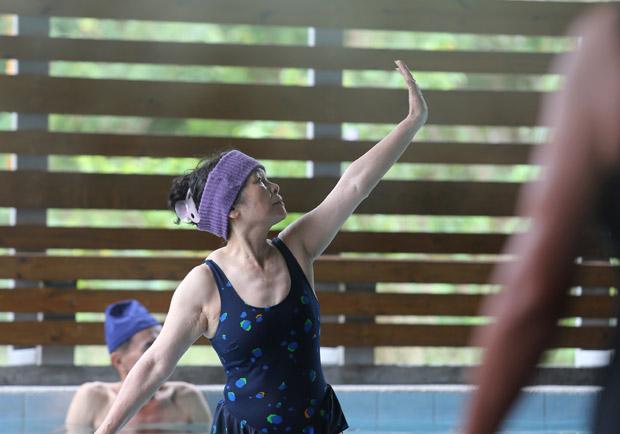 水中運動助高齡長者提升肌力