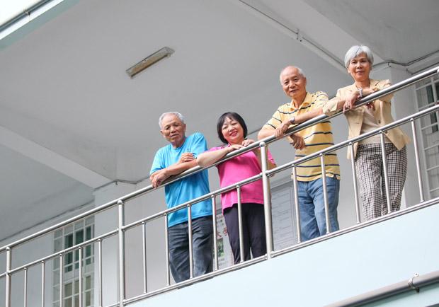 退休後,嗜好和朋友是心靈上最大的寄託