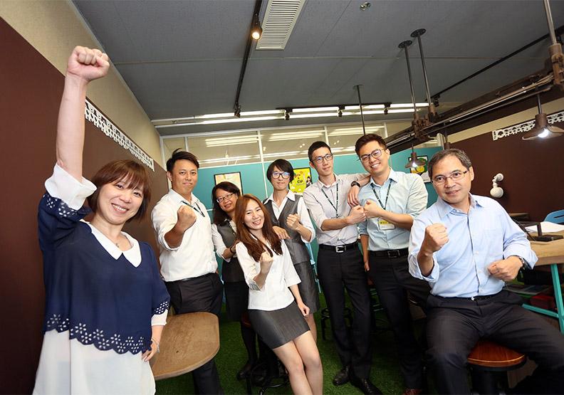 鼓舞員工變大夢想家 組團隊競賽實踐公益