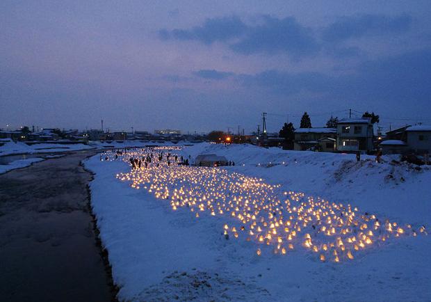 日本冬季最大雪屋祭:橫手雪屋祭