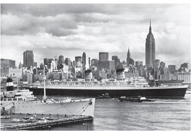 伊莉莎白女王號在香港沉船 大英帝國沒落的象徵
