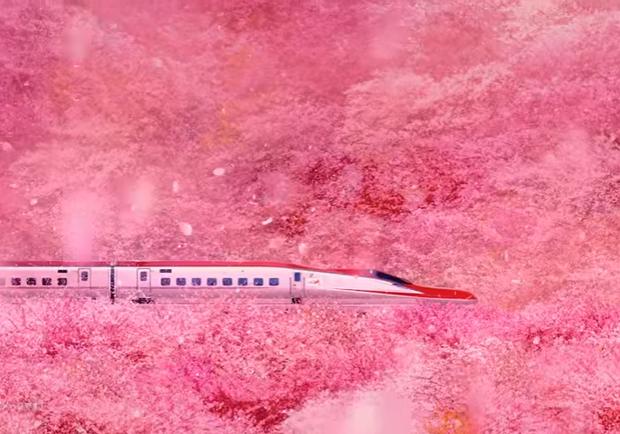 溫暖劃過四季!讓人一看再看的JR東日本秋田新幹線絕美鐵道廣告!