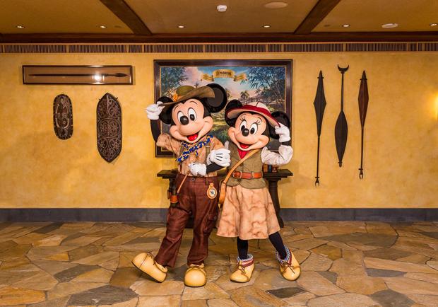 化身覆蓋的獨木舟?香港迪士尼探索家度假酒店獨特風格貫徹冒險精神!