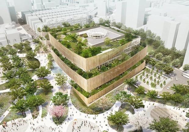 以生命樹為靈感!「桃園市圖」將變身時尚「綠建築」