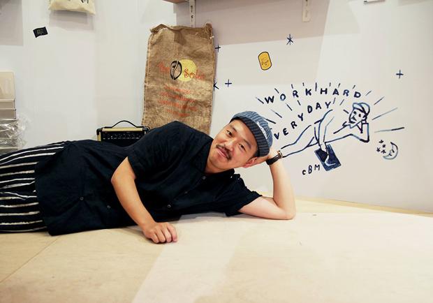 日本手繪藝術家CHALKBOY不設限的塗鴉創作美學