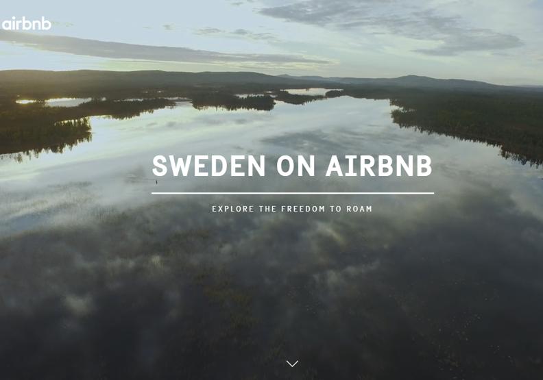整個國家搬上Airbnb註冊?瑞典創意旅遊廣告讓人心生嚮往!