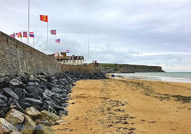 走過二戰傷口:法國諾曼第D-Day海灘