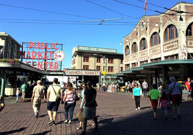 去美國最老菜市場觀光