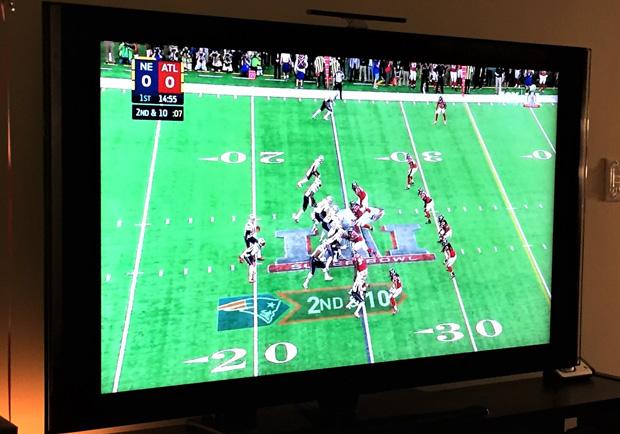 美國收視率最高的電視節目-超級盃美式足球賽