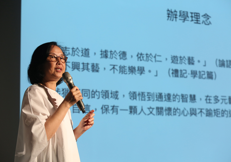 美也能成為高中課堂正式教育?台灣首座美學實驗學校成立