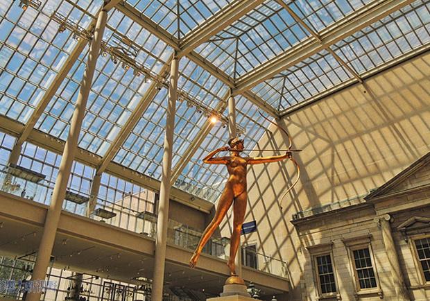 紐約上東城博物館人文洗禮