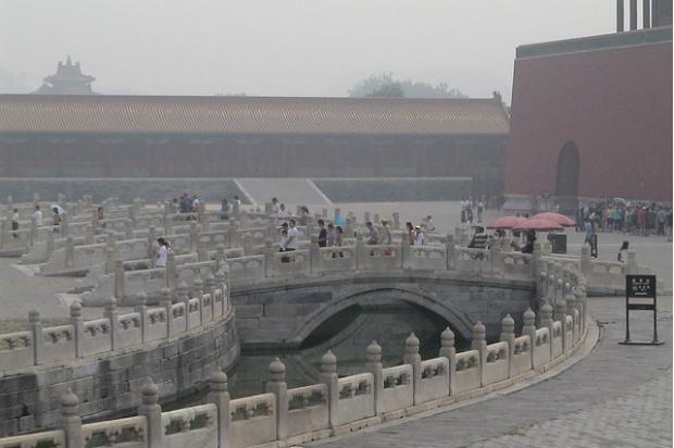 紫禁城內的霧霾殺手