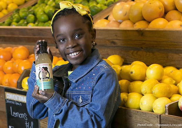 「蜜蜂女孩」4歲創業、10歲拿到百萬美金的投資!