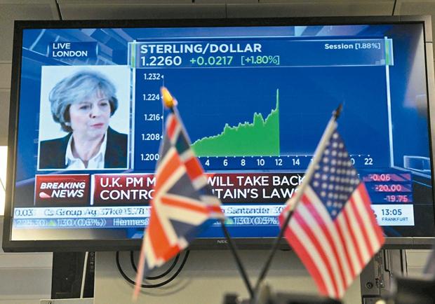 英國硬脫歐有恃無恐 梅伊手握川普「王牌」?