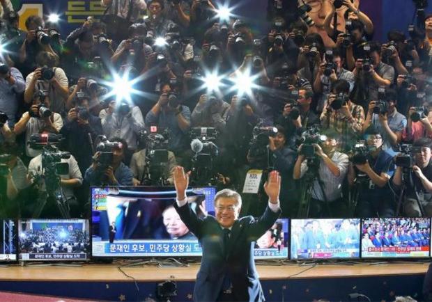 文在寅當選韓國總統 料今天就任