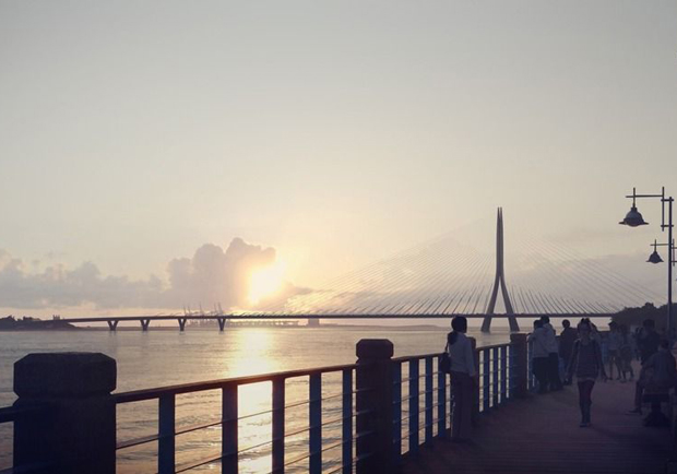 淡江大橋動不了工 只因錢燒不夠多?