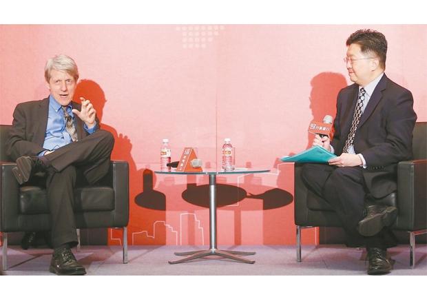 諾貝爾經濟學獎得主席勒:台灣人困擾3件事