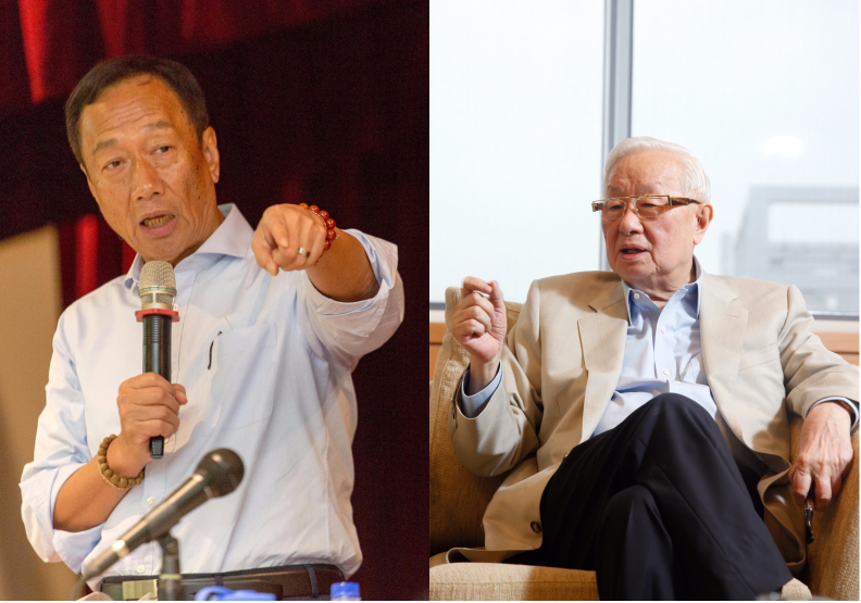 郭台銘、張忠謀,到底誰比較愛台灣?