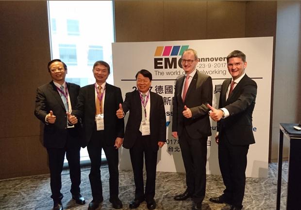 漢諾威工具機展 台灣「兆元產業」2017創新高