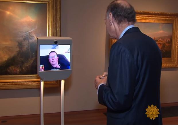 行動不便者福音!機器人「分身」逛博物館