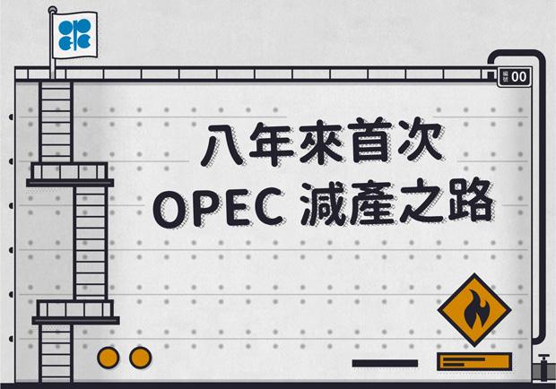 八年來首次 OPEC減產之路