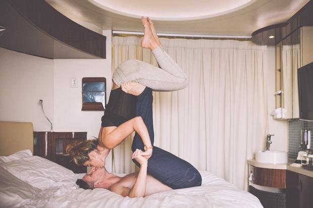 夫妻床上運動,每週一次恰恰好