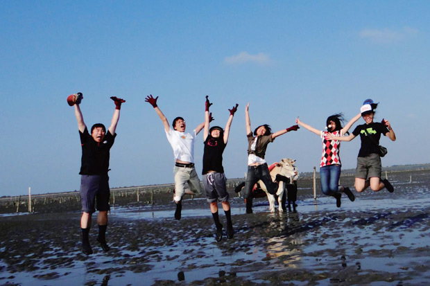 輕重平衡的生活:與好友一同「蝸行」台灣