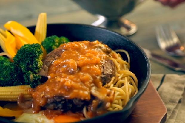 台式好味道!在家做多汁鮮嫩夜市鐵板牛排