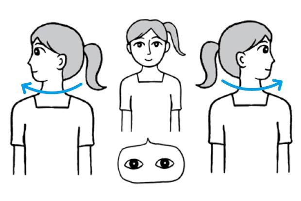 讓眼部、頸部和腦部血液循環好轉的「改善視力健康操」