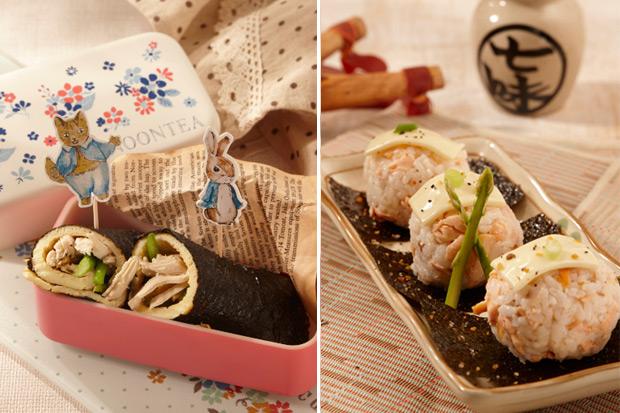 野餐營養好料理:壽司飯糰類