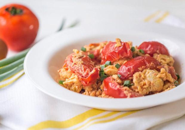 新手必學,超神下飯料理:番茄炒蛋