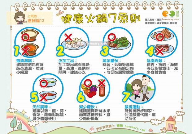 健康吃火鍋的 7 大原則