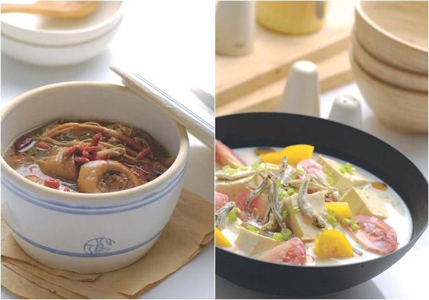 適合全家人的健康料理:麻油茶燉雞、骨氣十足健康煮