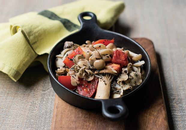 給你滿滿的植化素!營養美味料理:蒜香菇菇蕃茄