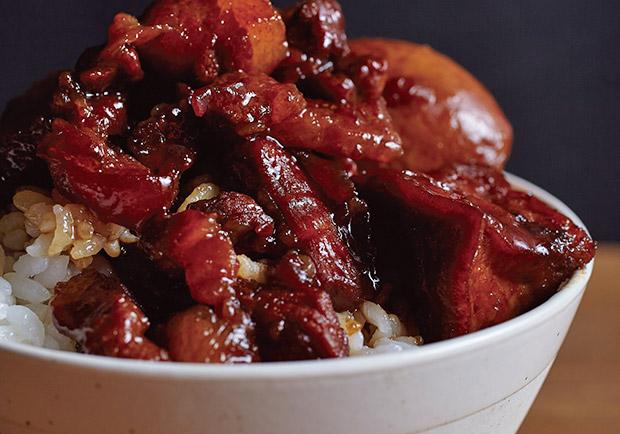簡單電子鍋料理:西打滷肉飯