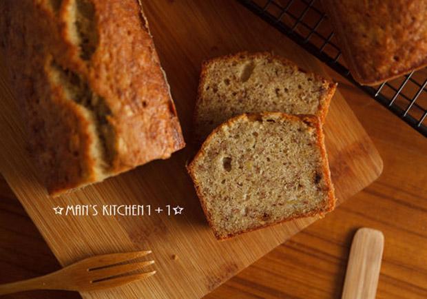 烘焙新手的入門甜點:香蕉麵包