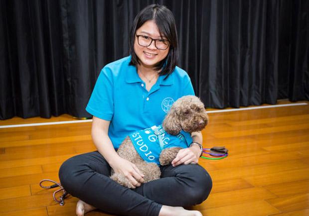 動物輔療不簡單,讓療癒犬打開身障者的心