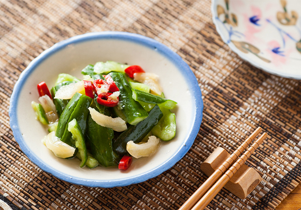 夏日免開火清爽小菜:古早味涼拌小黃瓜