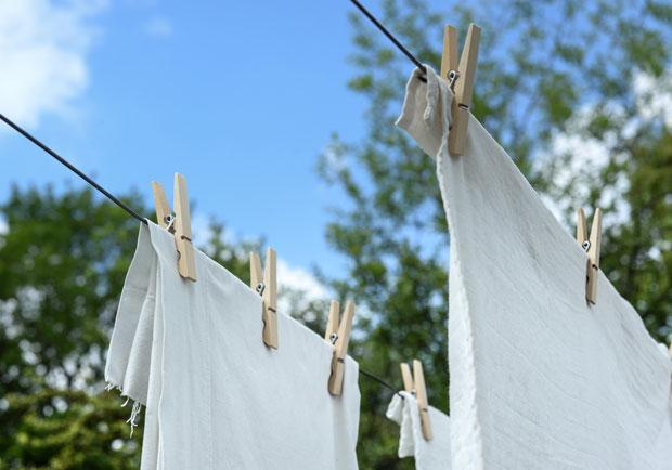 衣物漂白、去血漬,用天然配方簡單就能達成