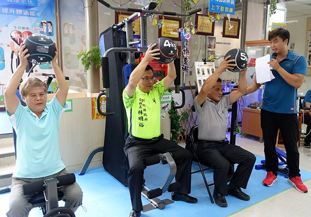 台灣邁入超高齡社會,衛生所轉型「不老健身房」