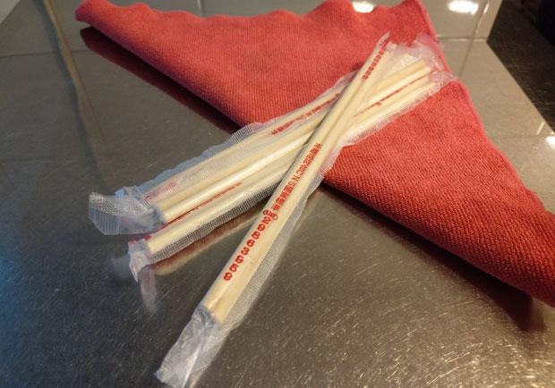 不得已必須用免洗筷,先做這步減少吃進化學物質