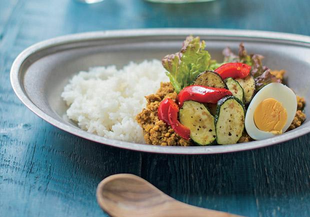 超強排毒料理:烤野菜咖哩飯