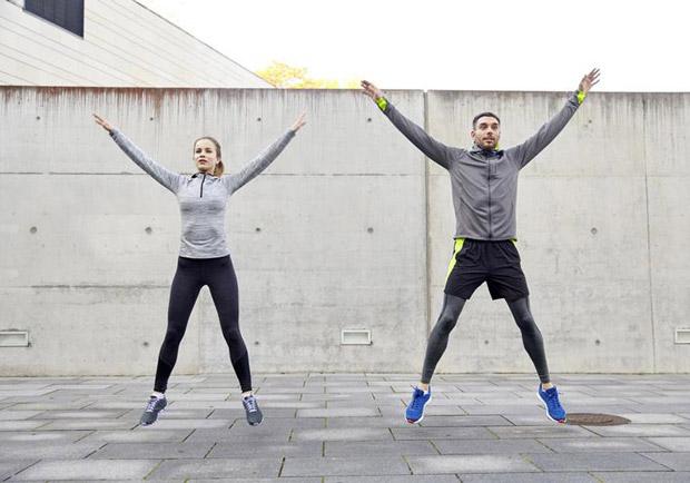 簡單的開合跳可讓身體獲得 6 大好處
