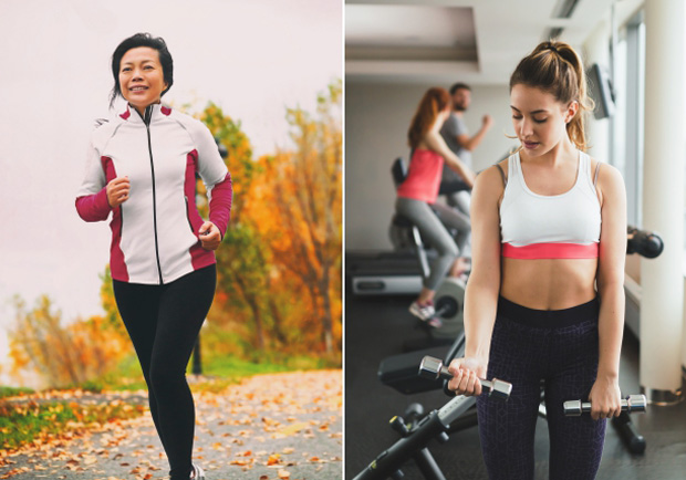 剷除頑固內臟脂肪,有氧、無氧運動互相搭配才有效!