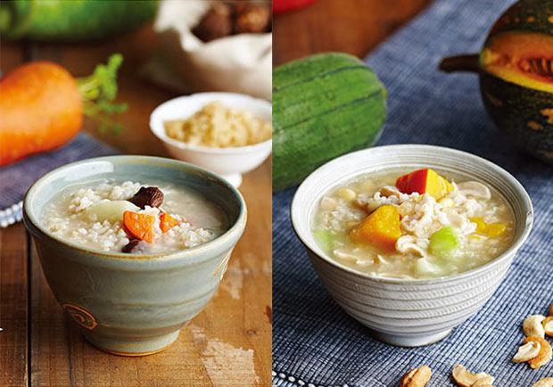 暖胃補氣、潤膚健胃,美味素食粥飽足又養生